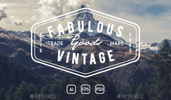 18 Simple Vintage Badge