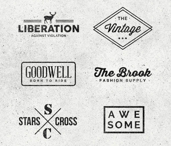 Minimal Logo/Badges Bundle