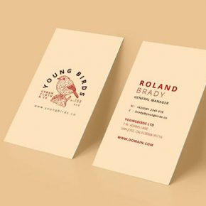 20 Minimal Retro & Vintage Business Card Templates