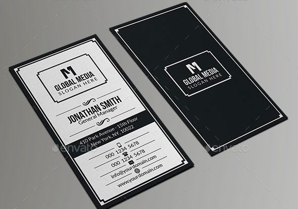 Retro Business Card 23