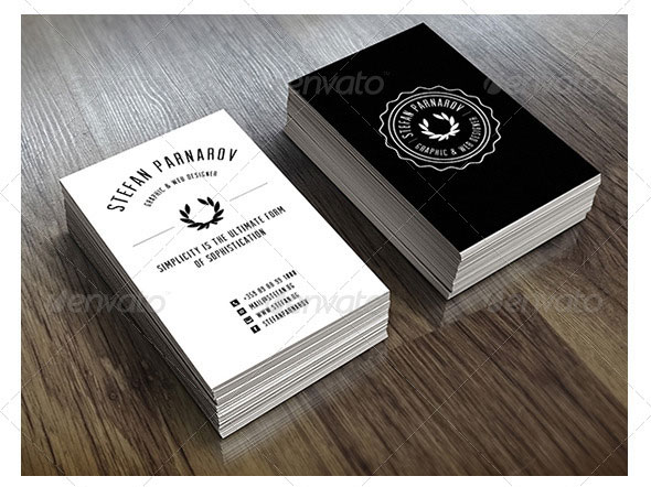 Creative Retro Business Cards