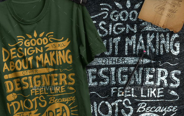 3 Quotes Typography T-Shirts