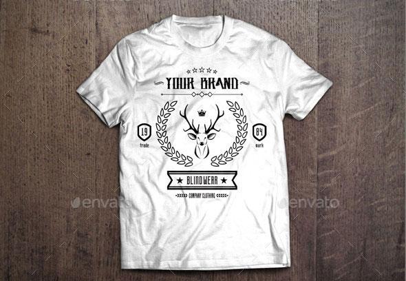 3 T-Shirt Template #1