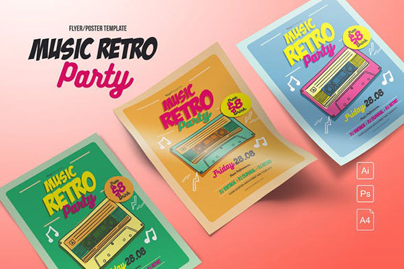 Music Retro Party