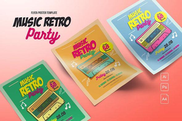 Music Retro Party