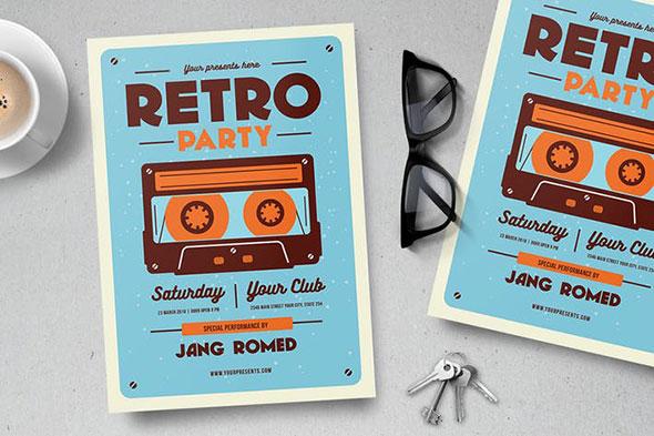 Retro Music Flyer