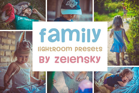 Family & Children Lightroom Presets