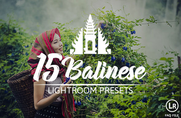 15 Balinese Pastel Premium Presets For Lightroom