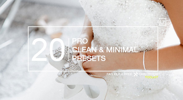 20 Pro Clean & Minimal Presets