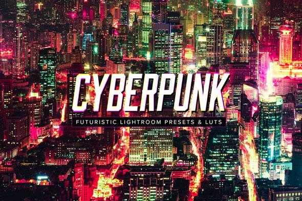 10 Cyberpunk Lightroom Presets & LUTs