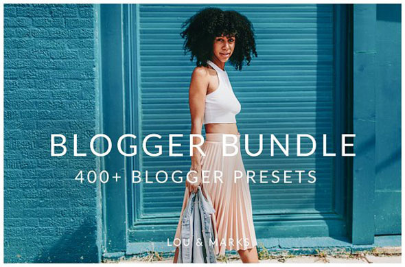400+Blogger Collection LR Presets
