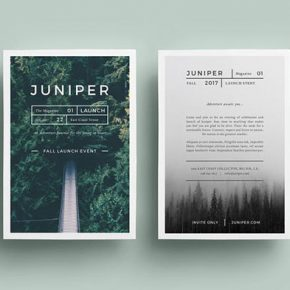 20 Amazing Graphic Design Templates Inspired By Nature