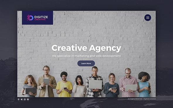 Digitize - Creative Multi-Concept Theme