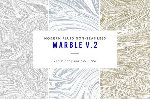 Modern Fluid Non-Seamless Marble V.2 Patterns