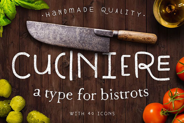 Cuciniere font