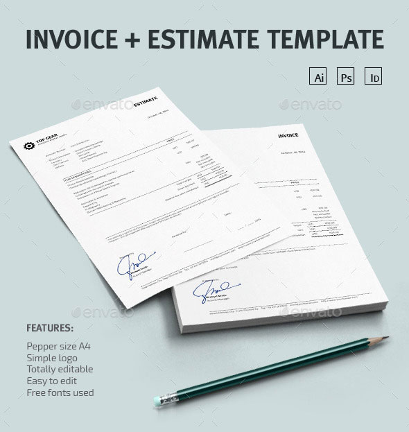 Invoice + Estimate Template