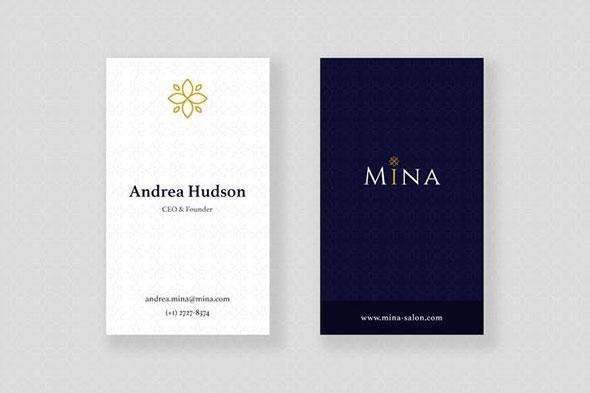 Mina Beauty - Business Card