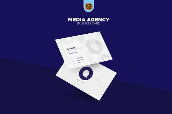 Media Agency Business Card 04
