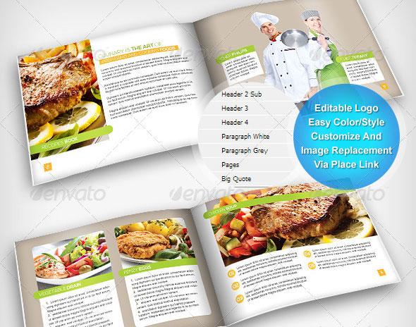 Food Recipe Brochure | Volume 1