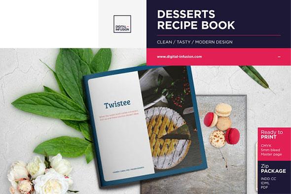 Twistee — Desserts Recipe Book