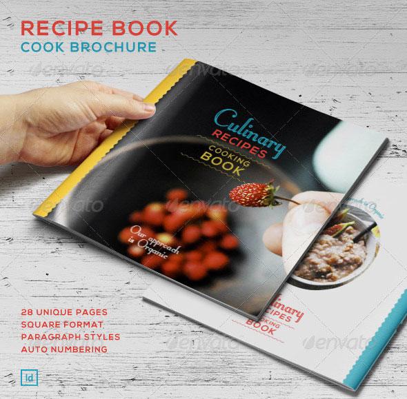 Recipe Book - Cook Brochure