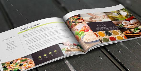 Recipes Book / Brochure Template