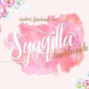 20 Gorgeous Watercolor Fonts That Will Amaze You
