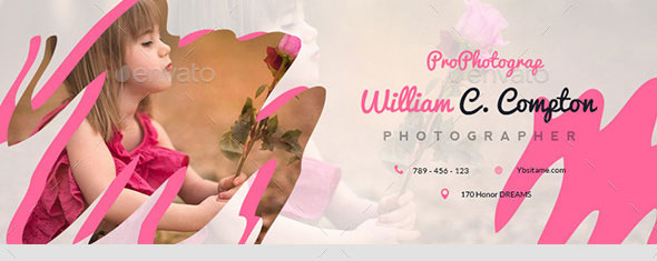 Pink Photography Facebook Covers