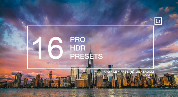 16 HDR Landscape Pro Presets